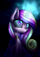 Poster - Light in the darkness by NaatTheArt