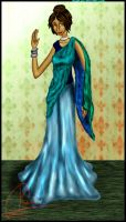 Sari Attempt by Roqa
