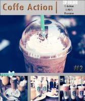 Coffe Action by PrettyMuffin