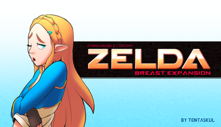 Zelda Breast Expansion DLC by Tentaskul by berggie