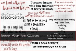 Edgar Allan Poe Quotes by Bound-By-Leather