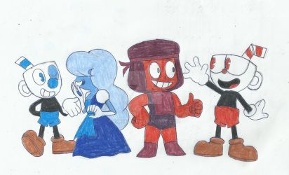 (Request) Gems and Cups by rogelis