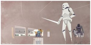 Early Stormtroopers (Based on Ralph McQuarrie) by Cranimation