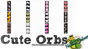Cute Orbs by Cursorsandmore