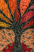 Stained Glass Tree. Free Download! by LittleCircles