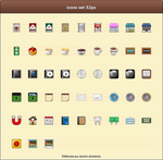 icons set 32px by Mickka