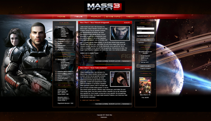 Mass Effect Layout by NewYart