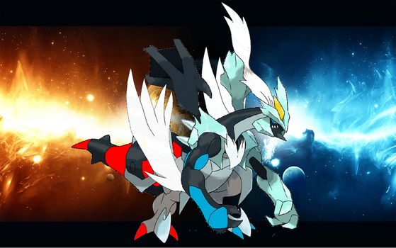 zekrom kyurem and reshiram combined V3 last one by sonicmaker1999