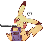 You caught a PIKACHU! by SeviYummy