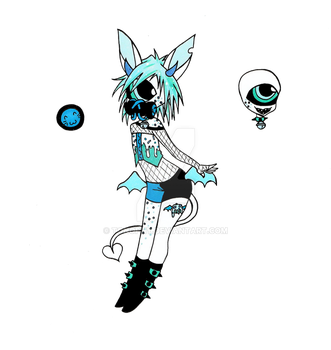 Mystery Aesthetic adopt Irri by Tonophy