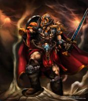 Tyr the north God of  War by Chaos-Draco