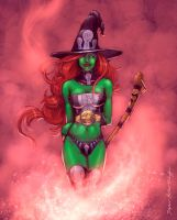 Witchie Boo by StephenSchaffer