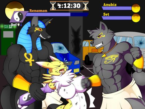 Renamon: Bodied by 3DBoxing