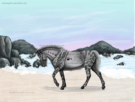 Purple Grey Tiger by Mustang601