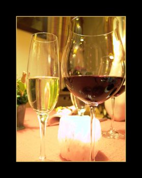 Wine and Champagne by PhilipCapet