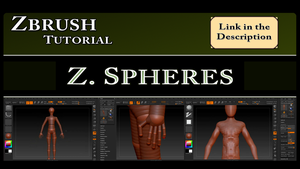 Zbrush Tutorial: Zspheres by Requiemsvoid