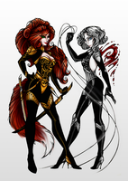Infernal Furies by HechiceraRip