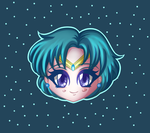 Sailor Mercury by Saphinel