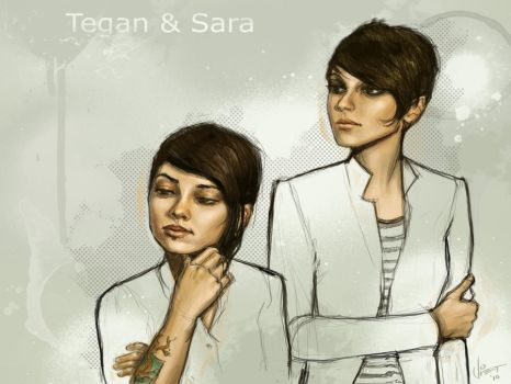 Tegan and Sara by VietNguyen