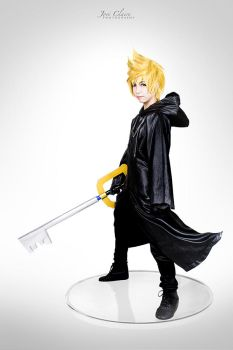Kingdom Hearts 358/2 Days: Roxas by JoviClaire