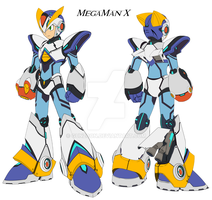 Mega Man X Armour Ver KE. by GunZcon