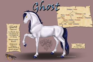 Ghost - Son of Reckless by FlareAndIcicle
