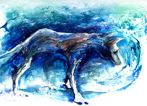Lone Wolf by milestsang