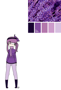 Color Pallet Adopt #1 Result by SweetGirl121212