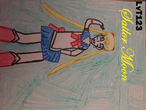 Sailor Moon by lovetrouble123