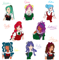 The Asteroid Senshi by Butterfly--Empress