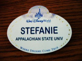 My nametag by StefiIsAwesome