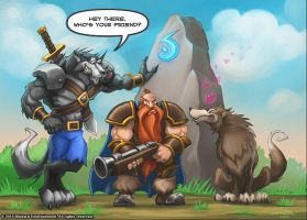 Warcraft - Who's Your Friend by SamwiseDidier