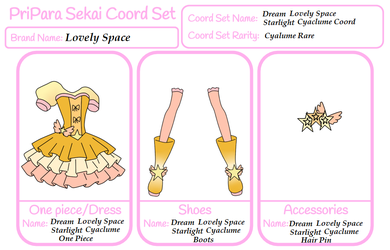 PPS Lovely space Coord:DLS Starlight Cyalume Coord by xMagical-Ichigo-Tanx
