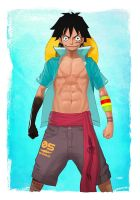 -- Luffy -- by yvanquinet