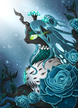 Blue Rose of the North by Yula568