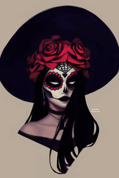 Day of the Dead by mioree-art