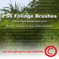 PS6 BRUSHES - Foliage by Ninja-Ryo