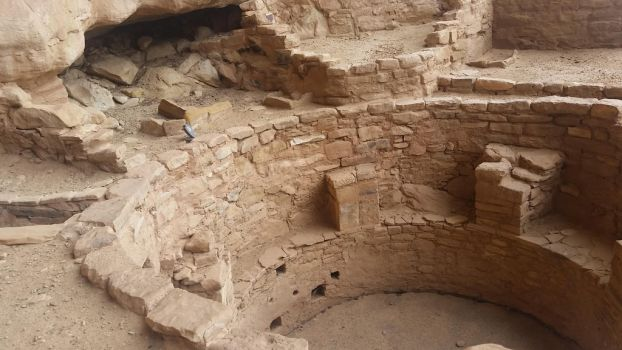 the pit house (Mesa Verde) by ScouttheRangerDog