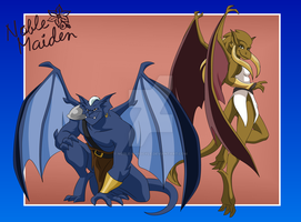 Gargoyles Beasts by Noble-Gargoyle