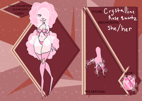 CoD Crystalline Rose Quartz by RottenAlice