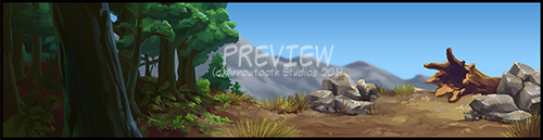 BG frame preview - by FABLEPAINT by KayFedewa