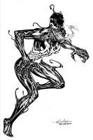 She-Venom - May17th2014 by SpiderGuile