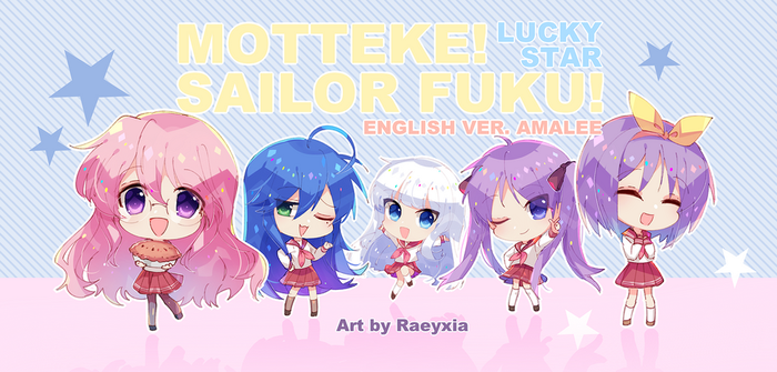 Motteke! Sailor Fuku! by Raeyxia