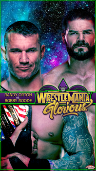 WrestleMania 34 Bobby Roode vs Randy Orton WWE by roXx81