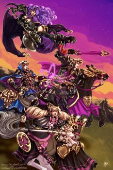 Riders of Nohr by IceVolvagia101
