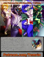 July Commissions + Content - CLOSES TOMORROW by Temrin