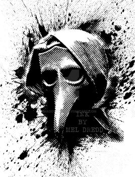 Plague doctor. by shadowkult