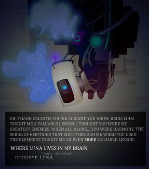 Nightmare GLaDOS V2 by AbductionFromAbove