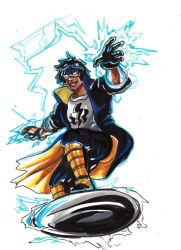 InbeonCon Sketches: Static Shock by timberking