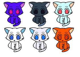 Cat Pallet Adopts 5 points (OPEN) by DreamNotePrincess